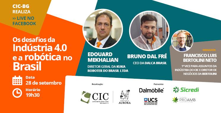 Os Desafios da Indústria 4.0 e Robótica no Brasil