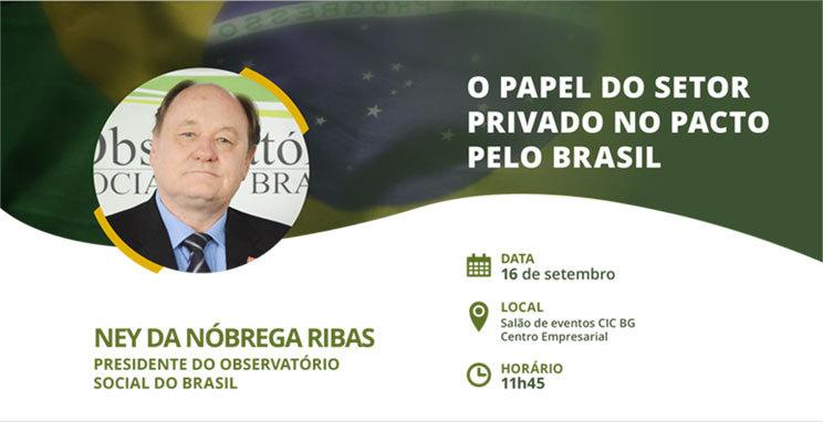 O papel do setor privado no Pacto pelo Brasil