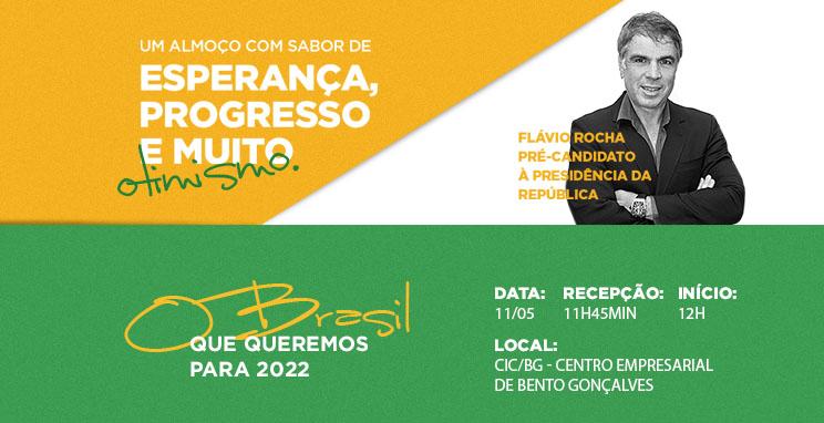 Palestra Almoço com Flávio Rocha