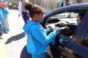 Parceiros Voluntários tem agenda solidária em escolas e entidades do município