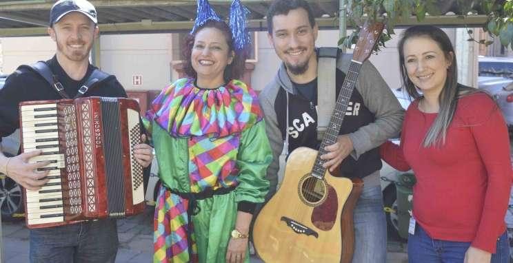 Agosto inicia com ações solidárias em instituições de Bento Gonçalves