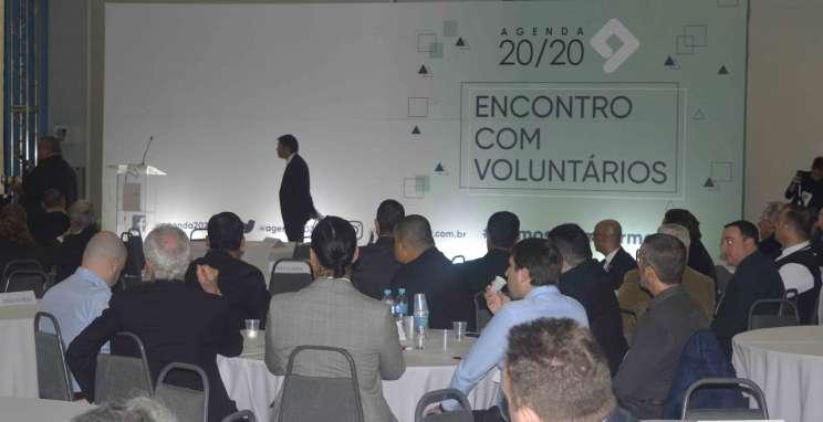 Agenda 20/20 elenca prioridades ao futuro governador