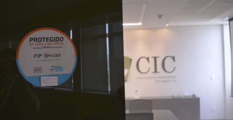 CIC-BG recebe sanitização em espaços de uso coletivo