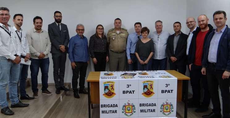 Consepro assina contrato de aquisição de equipamentos de segurança para Brigada Militar
