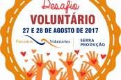 Desafio Voluntário será nos dias 27 e 28 de agosto