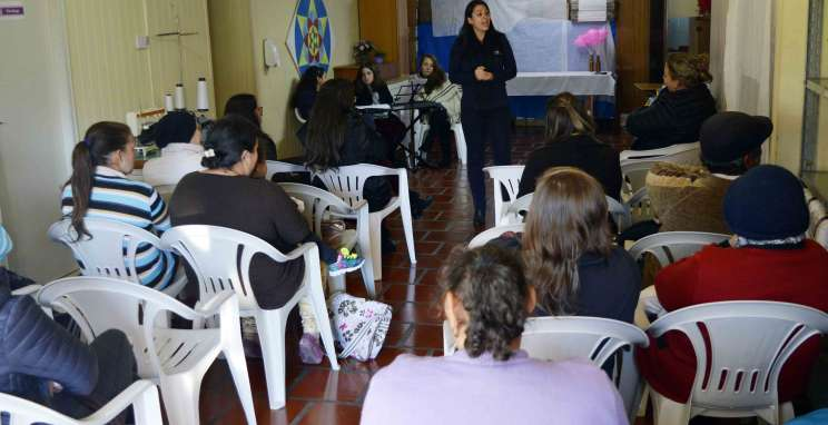 Ação solidária proporciona momentos de reflexão na AAPECAN