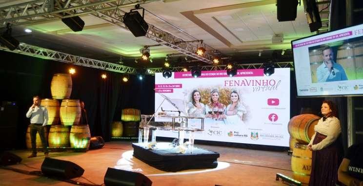 Fenavinho Virtual comemora aproximação da festa com o público
