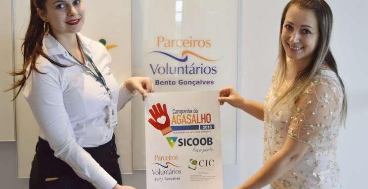Parceiros Voluntários e Sicoob promovem a solidariedade com Campanha do Agasalho