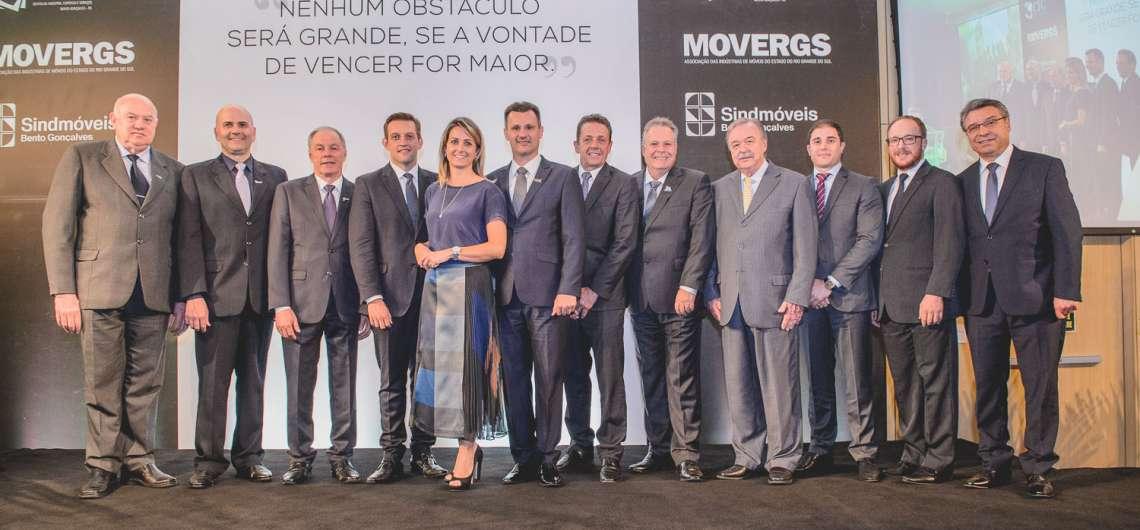 Centro Empresarial Bento Gonçalves inaugura celebrando a união