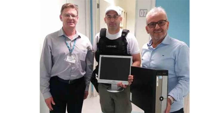 Hospital Tacchini doa computadores ao Consepro