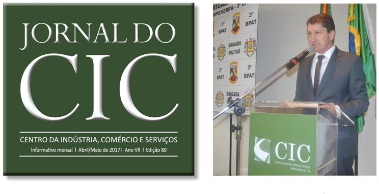 Jornal do CIC chega a sua 80ª edição