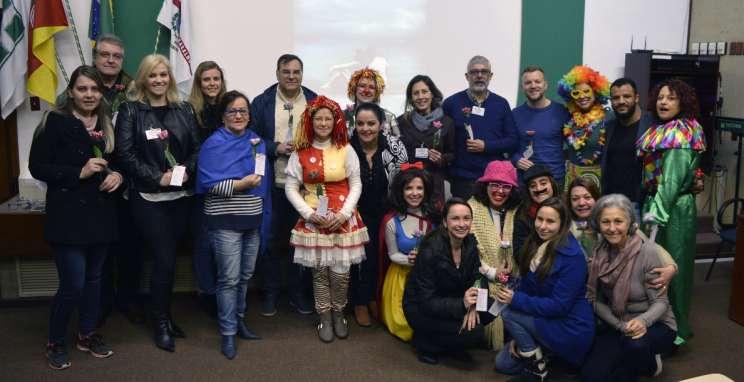 Encontro de voluntários homenageia quem promove ações beneficentes no Hospital Tacchini