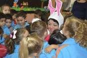 Parceiros Voluntários realiza ações na Escola Félix Faccenda