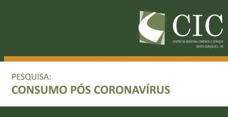 Pesquisa do CIC-BG investiga hábitos de consumo pós pandemia