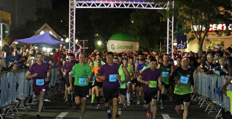 Últimos dias para aproveitar o primeiro lote de inscrições da Sparkling Night Run