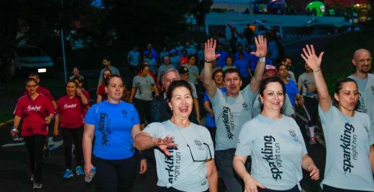 Sparkling Night Run reúne mais de 700 participantes em sua 6ª edição