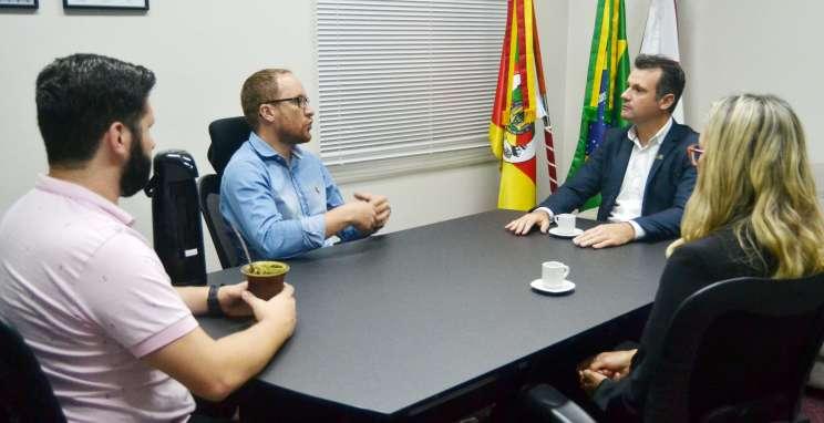 Presidente do CIC visita Câmara de Vereadores em aproximação com o Legislativo