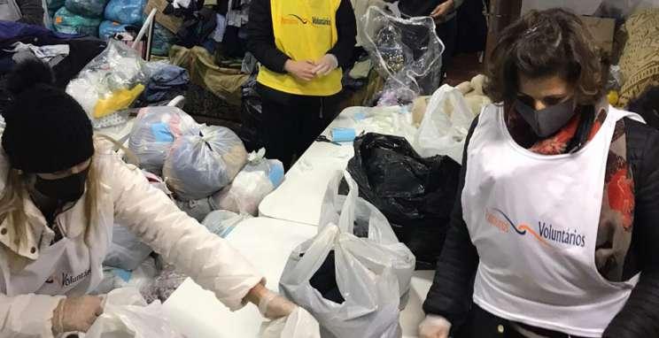 Parceiros Voluntários exerce papel social no combate aos efeitos da pandemia